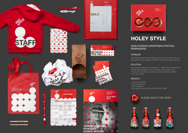 RED APPLE HOLEY IDENTITY